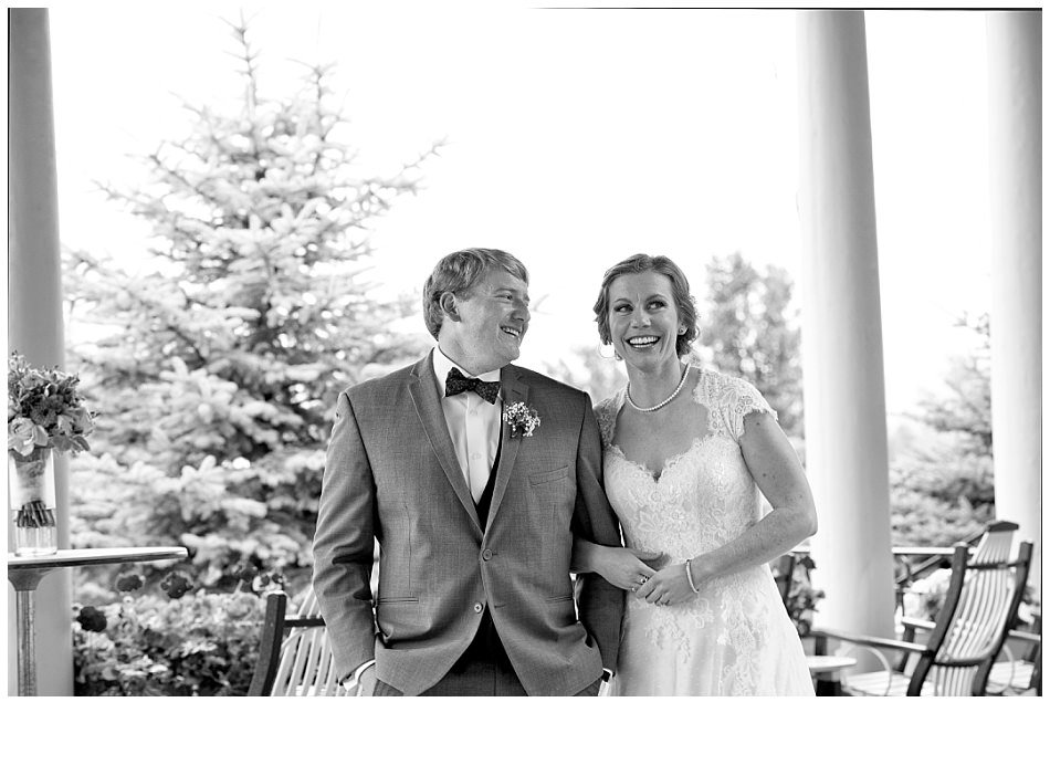 Little White Dress Denver CO -Skytop Lodge bride and groom photo | K. Moss Photography