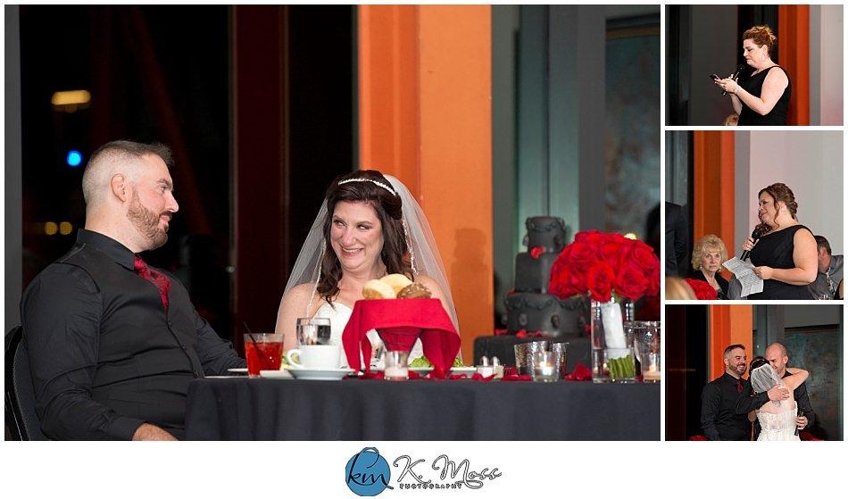 dj jimbo-wedding reception toasts and speeches - berks county wedding photographer - Steelstacks Bethlehem wedding | K. Moss Photography