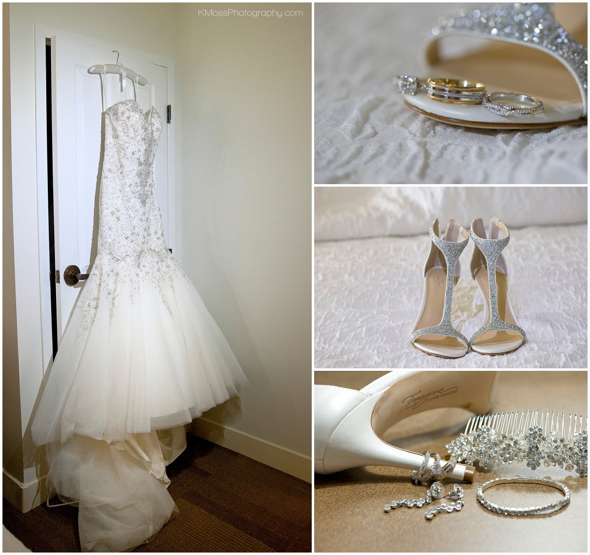 Bride Wedding Details | K. Moss Photography