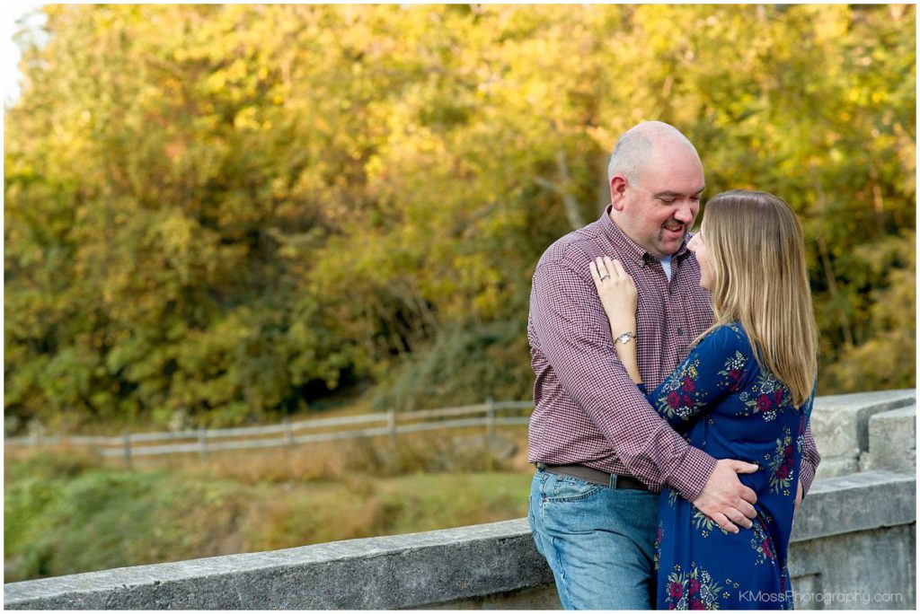 Fall engagement session in Wyomissing, PA   K. Moss Photography