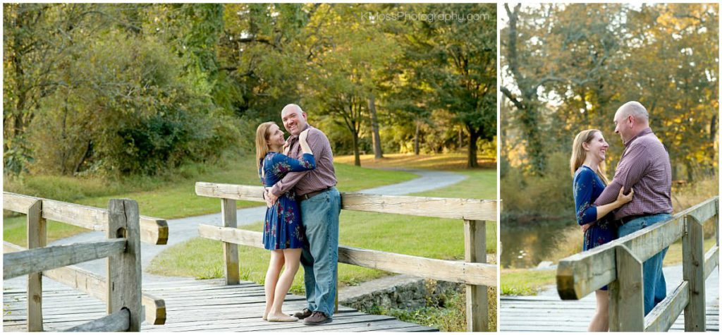 Fall engagement session in Wyomissing, PA | K. Moss Photography