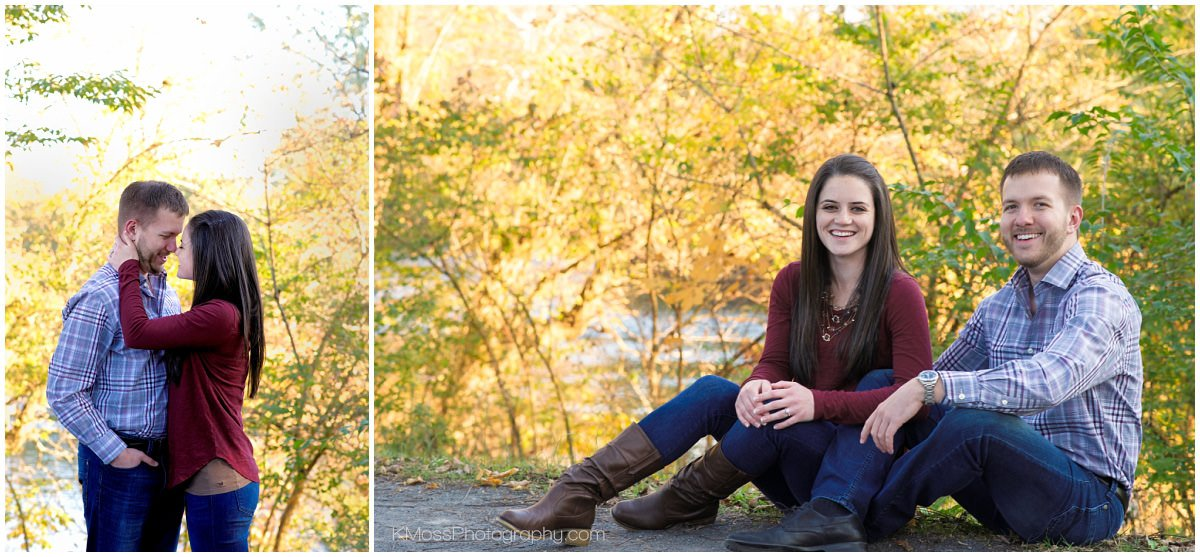 Berks County PA Outdoor Engagement Session | K. Moss Photography