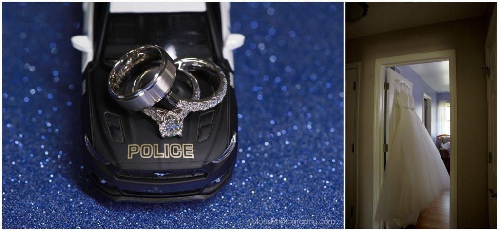 Berks County Wedding Photographer Police Wedding | K. Moss Photography