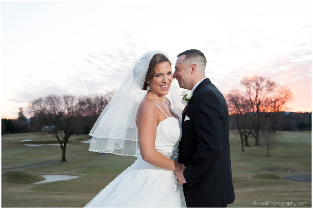 Berkshire Country Club Berks County Winter Wedding   K. Moss Photography